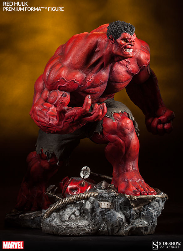 Morbius Marvel >> Red Hulk Statue Images and Info - The Toyark - News