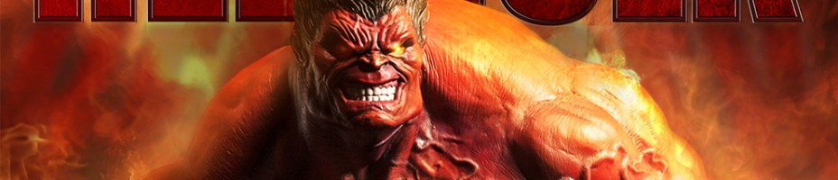 Red Hulk Premium Format Figure Preview