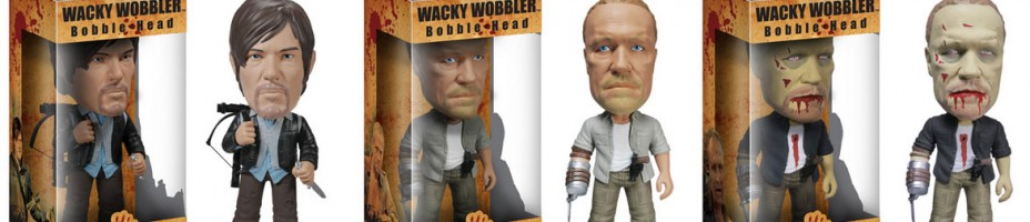 The Walking Dead Dixon Brothers Wacky Wobblers