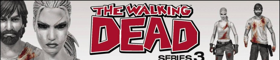 Walking Dead Rick and Andrea 2 Pack Previews Exclusive