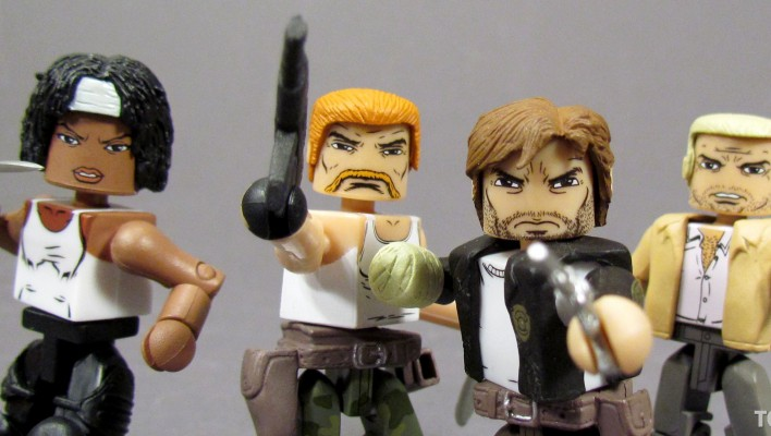 Gallery and Review of The Walking Dead Toys R Us Series 5 Minimates