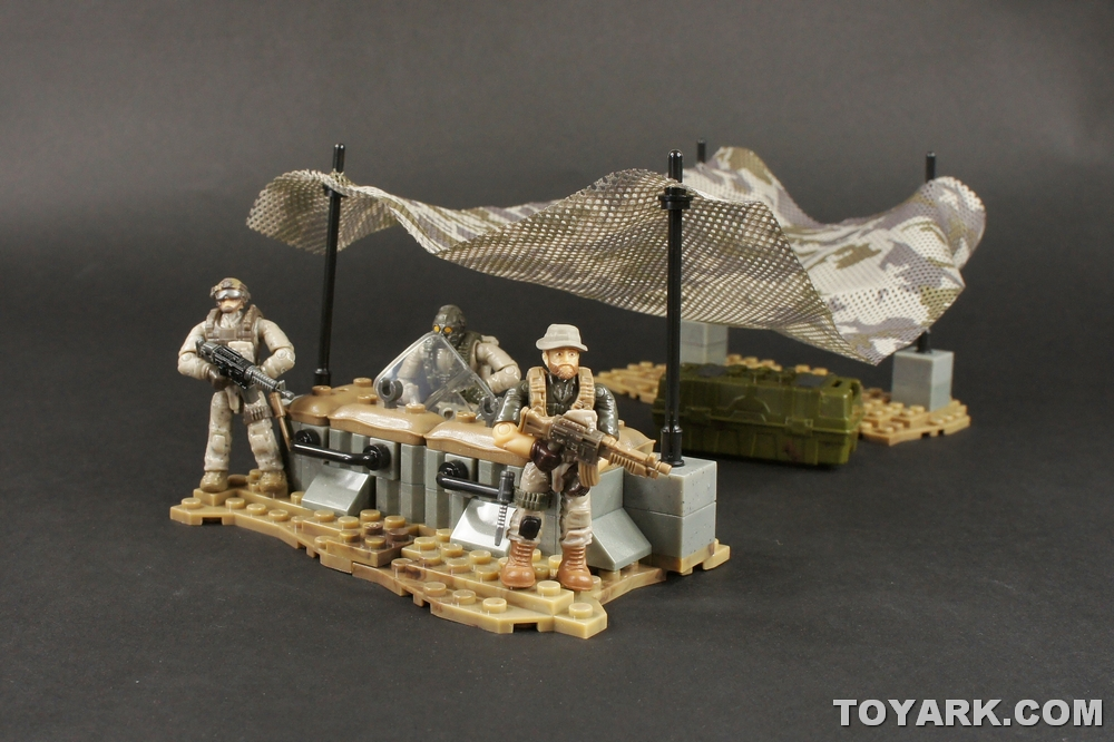 Call of duty mega bloks heavy armor outpost photo shoot the toyark