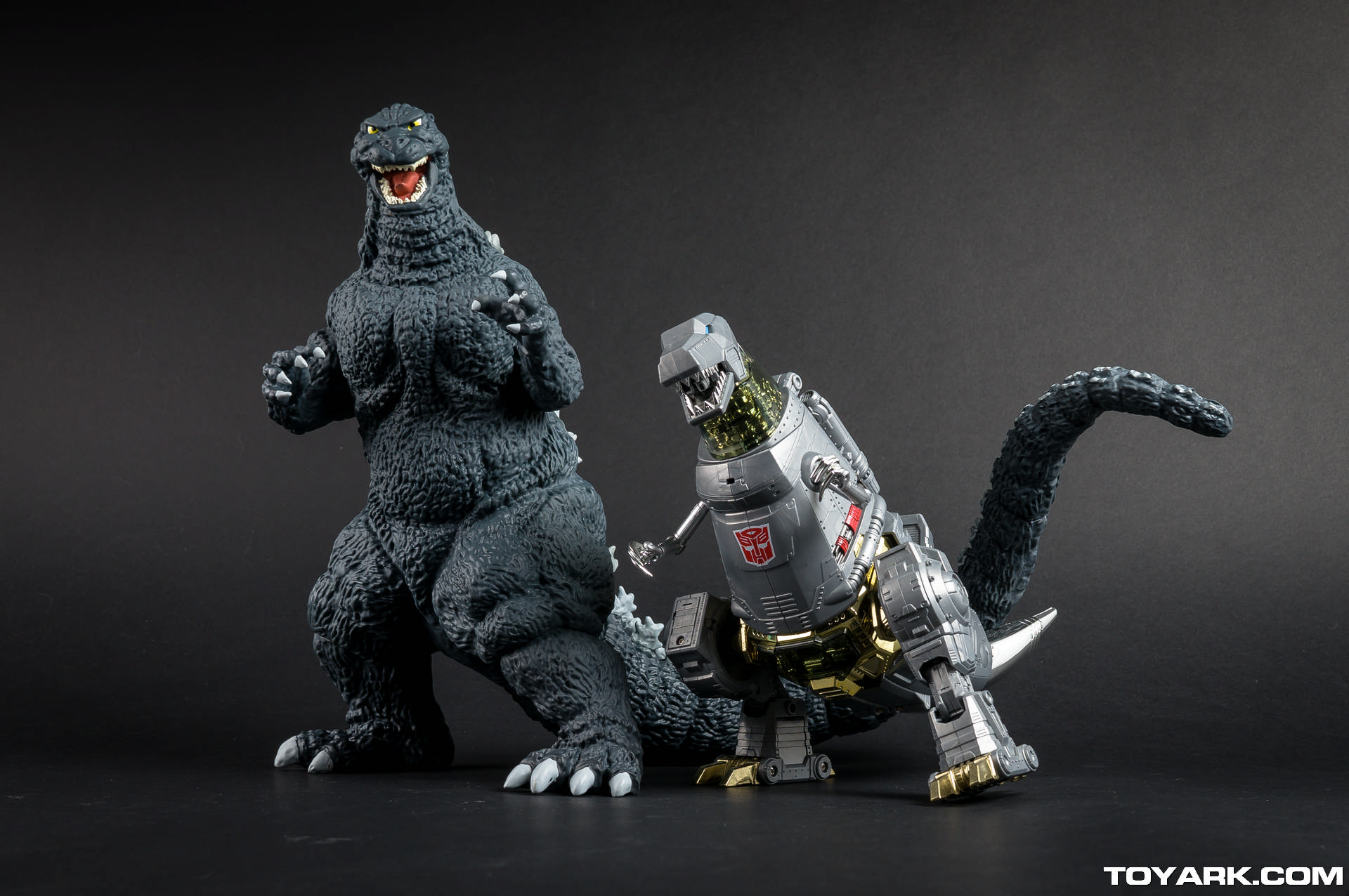Godzilla and Grimlock - Besties.