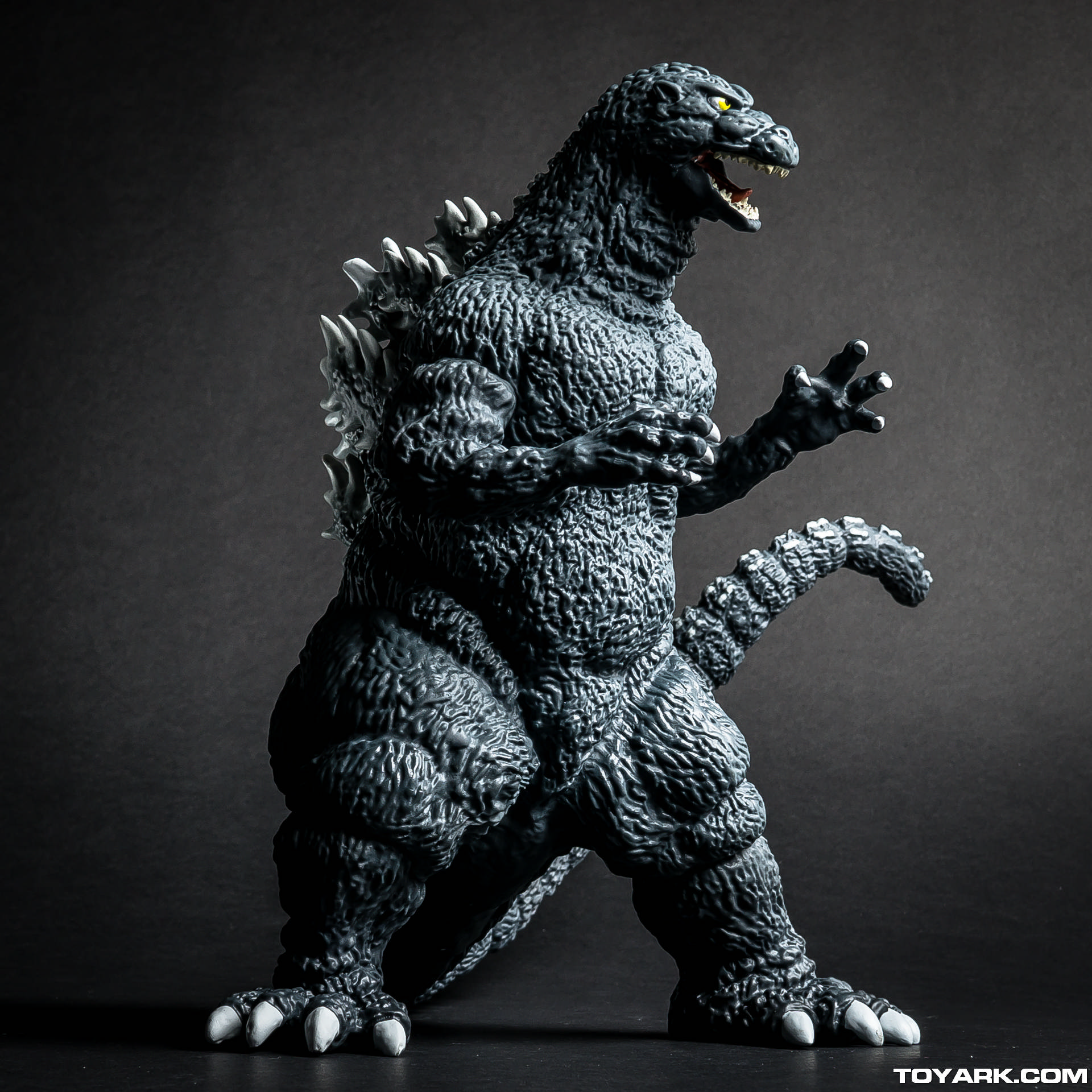 Godzilla Is Ready For Action.
