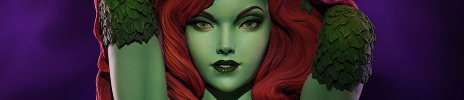 Green With Envy Poison Ivy Statue 001