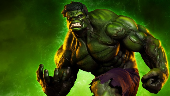 Sideshow Incredible Hulk Statue Full Preview