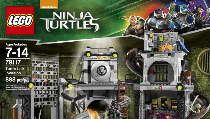 LEGO Teenage Mutant Ninja Turtles Movie Sets