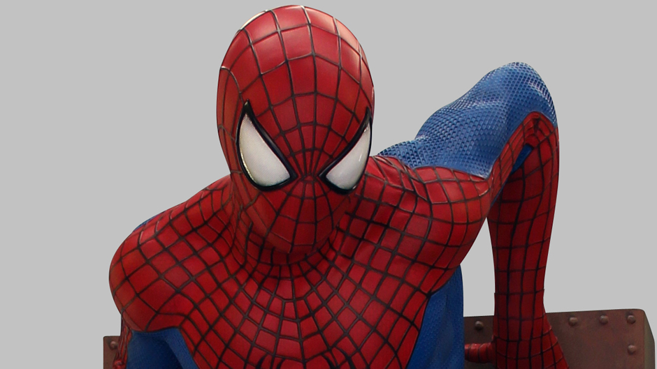Life Size Amazing Spider Man 2 Statue 001