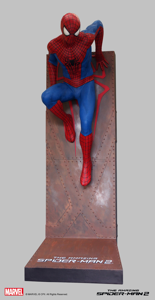 Life Size Amazing Spider Man 2 Statue 002