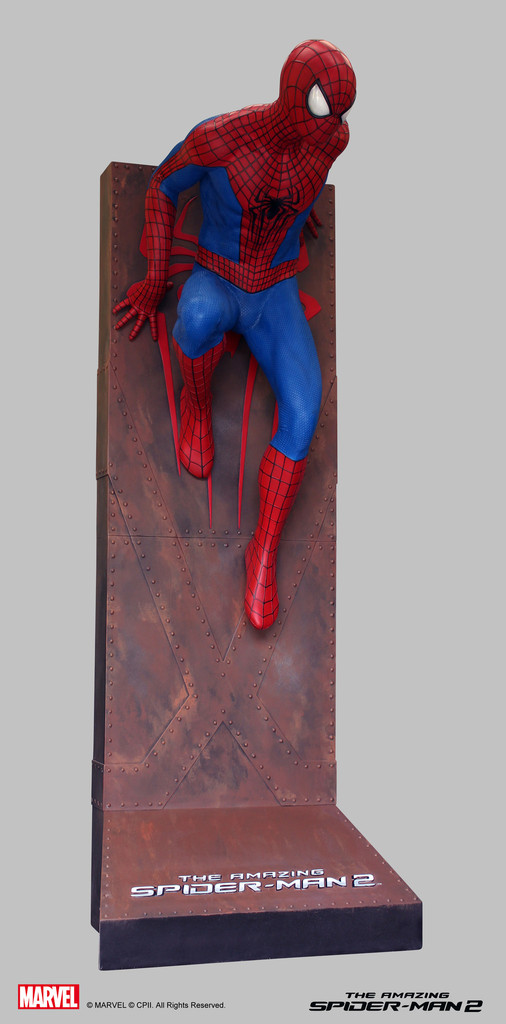 Life Size Amazing Spider Man 2 Statue 003