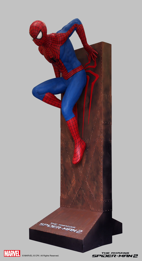 Life Size Amazing Spider Man 2 Statue 004