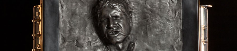 Life Size Han Solo in Carbonite 001