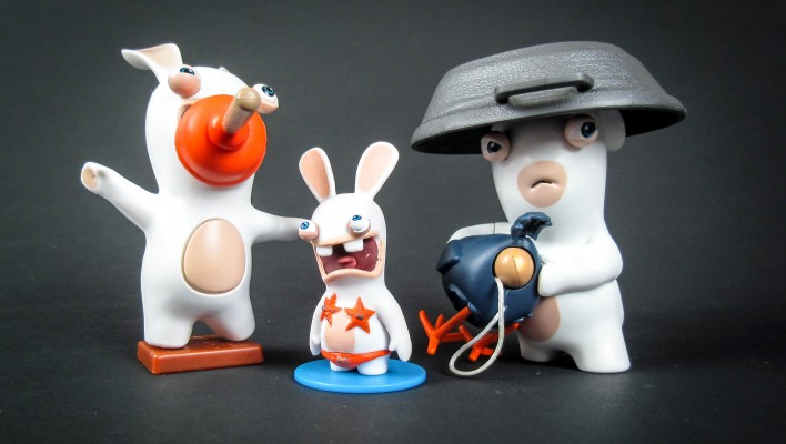 Toyark Gallery and Review - McFarlane Rabbids Invasion Toys