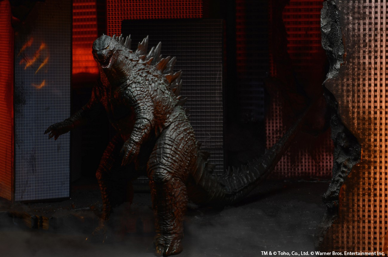 here is the new upcoming Godzilla 2014 toy model in multiple angles Neca Godzilla 2014 Action Figures