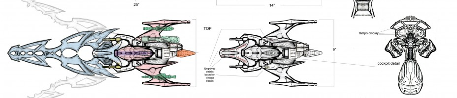 Predator Blade Fighter Vehicle Art
