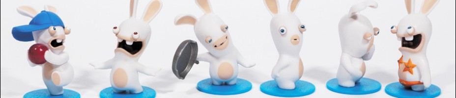 RABBIDS MINI FIGURES INVASION PACK 1