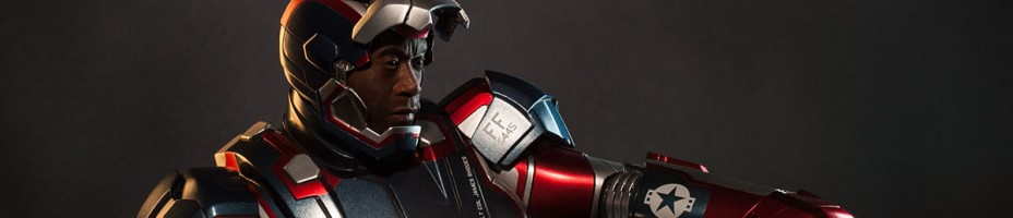 Sideshow Iron Patriot Maquette 004