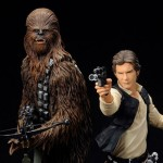 Star Wars Han Solo and Chewbacca ARTFX Statue 001
