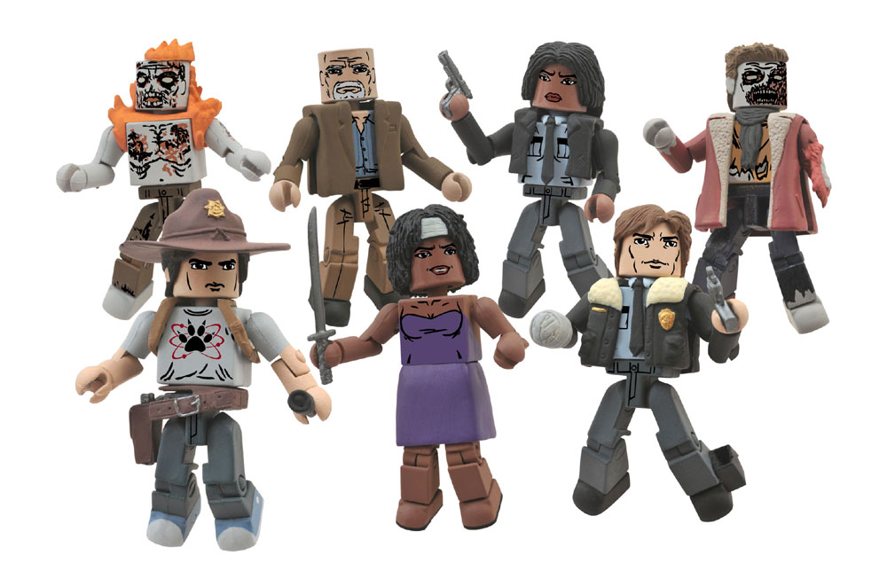 Official Pic Of Walking Dead Minimates Series 6 The
