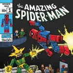 Amazing Spider Man 1 Minimates Cover