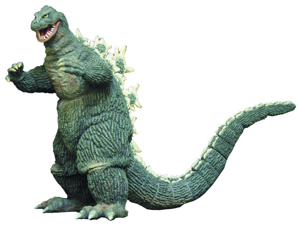 New Previews Exclusive Godzilla Figures In May Issue The