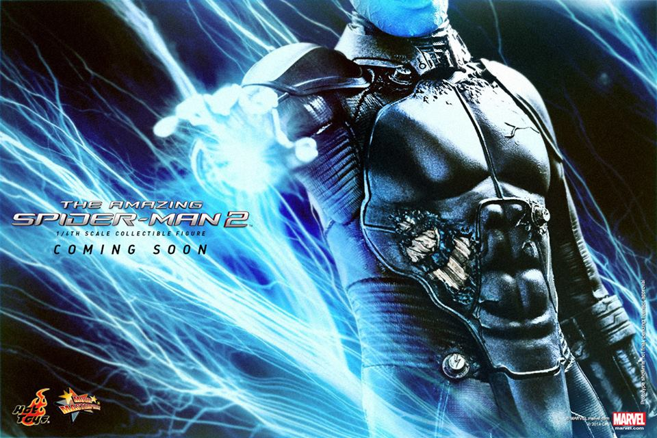 Electro from Aamazing Spider-Man 2 by Hot Toys - The ...  Spider