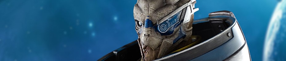 Mass Effect 3 Garrus Exclusive Edition Statue 002