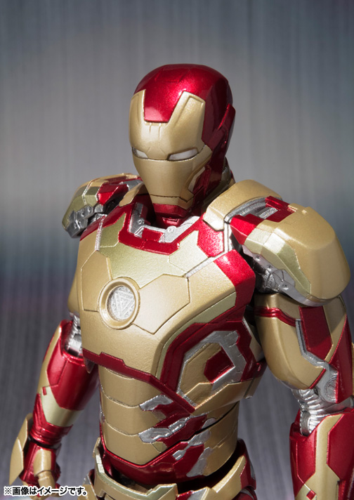 SH Figuarts Iron Man Mark 42 002