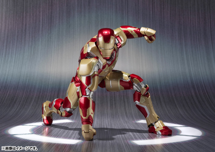 SH Figuarts Iron Man Mark 42 003