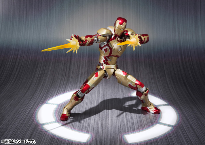 SH Figuarts Iron Man Mark 42 004