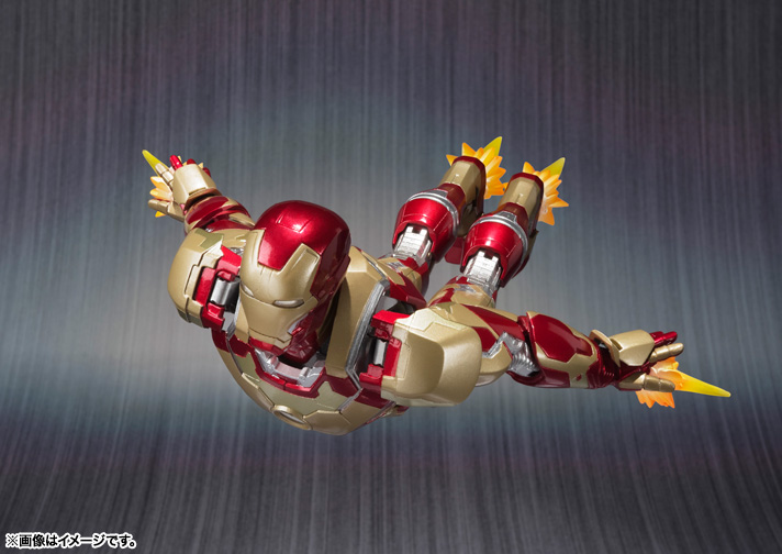 SH Figuarts Iron Man Mark 42 005