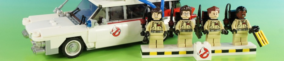 001 LEGO CUUSOO Ghostbusters Ideas