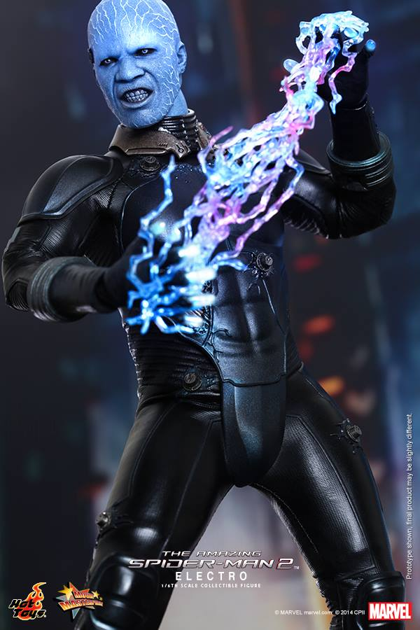 Electro From Aamazing Spider Man 2 By Hot Toys The