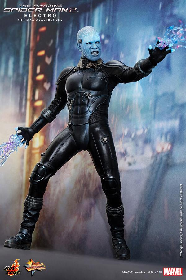New Spider Man 2 Toys : Electro from aamazing spider man by hot toys the