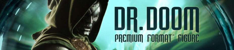 Dr Doom Premium Format Figure Preview