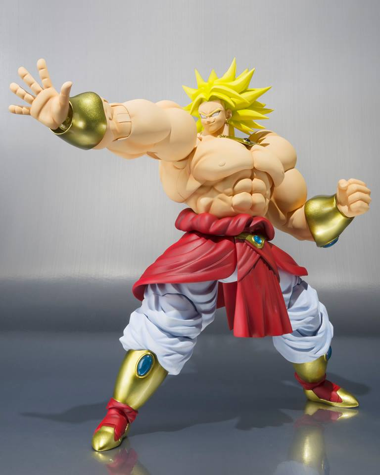 Dragon Ball Z SH Figuarts Broly 4