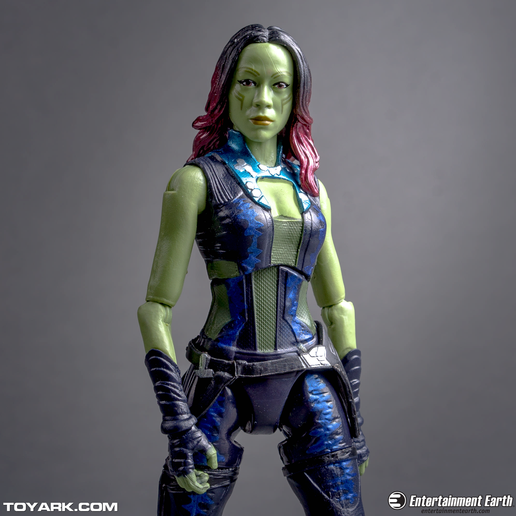 Gamora's sculpt is pretty well done.