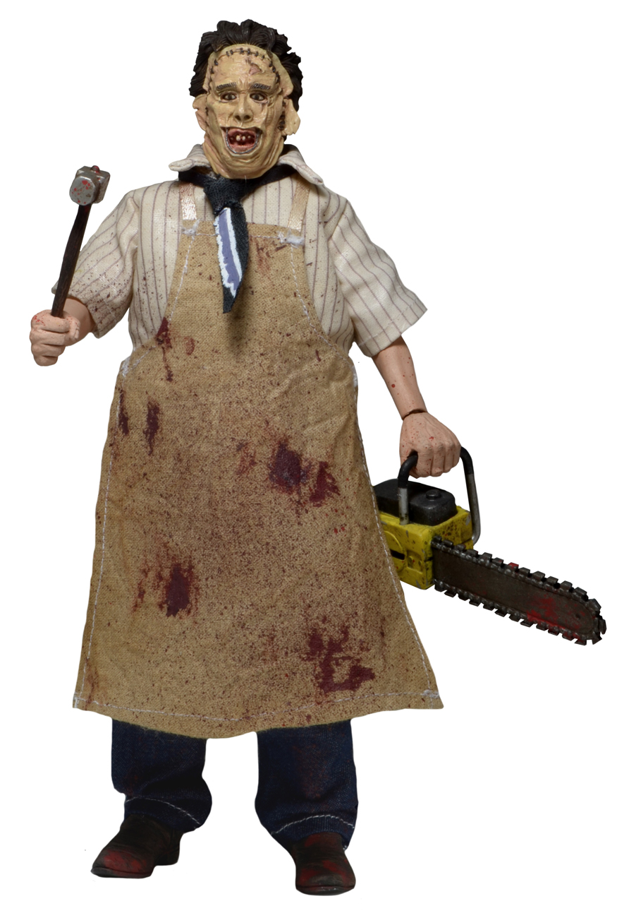 New Images of Texas Chainsaw Massacre Leatherface Retro Figure