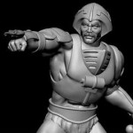 PCS MOTU Man at Arms Statue