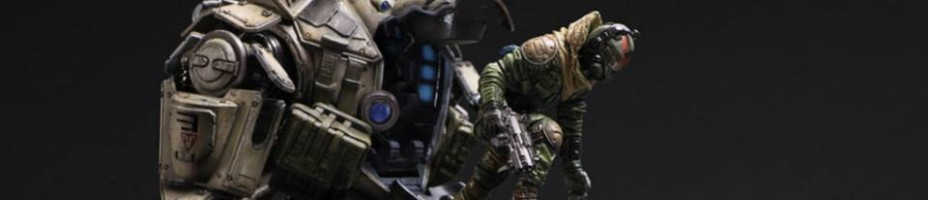 Play Arts Kai Titanfall Atlas 2