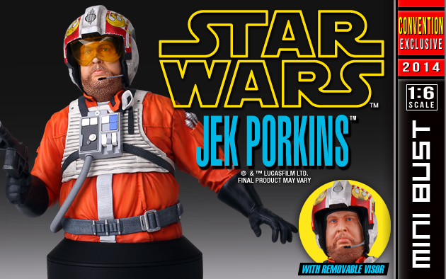 SDCC Exclusive - Jek Porkins 1/6 Scale Mini Bust