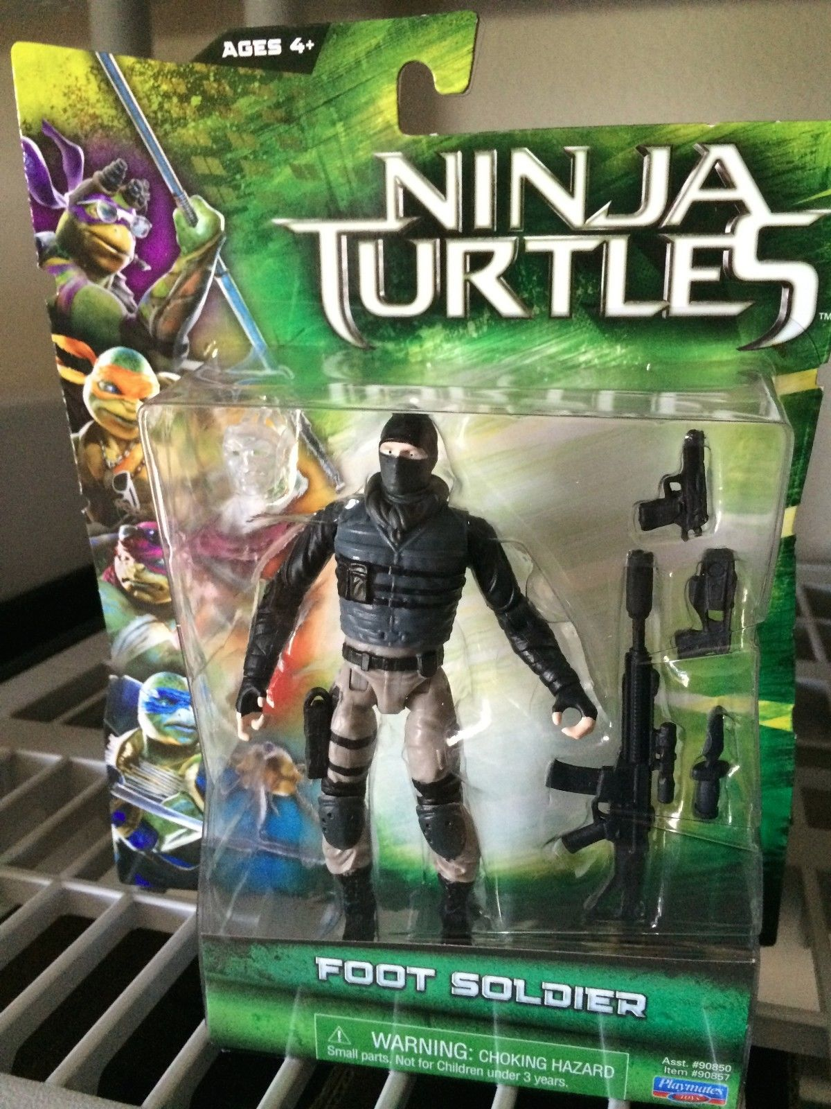Teenage mutant ninja turtles 2014 movie toys clear images for Foot soldier
