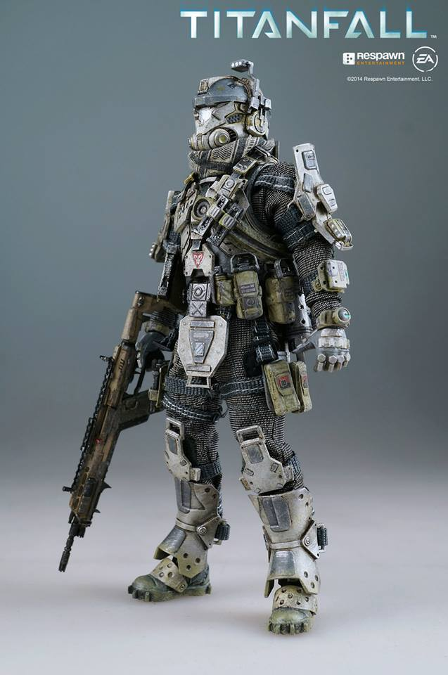 Preview of Titanfall Stryder Pilot by ThreeZero - The ...