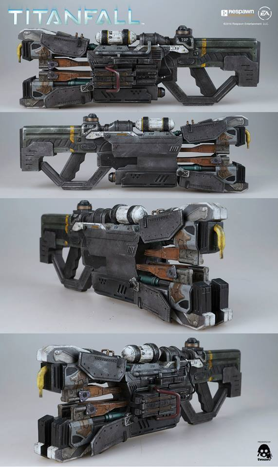 ThreeZero Update Shows Titanfall Atlas Weaponry - The ...
