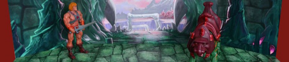 Toy Stage MOTU Castle Grayskull Entrance