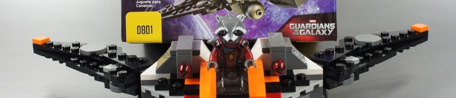 010 LEGO SDCC 2014 Guardians of the Galaxy Rocket Milano Exclusive