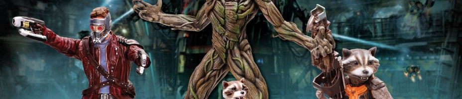 Guardians of the Galaxy Action Hero Vignettes