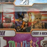 Guardians of the Galaxy Minimates Drax and Groot with Rocket Raccoon