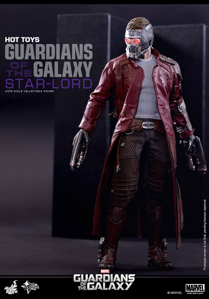 Guardians of the Galaxy Star Lord by Hot Toys