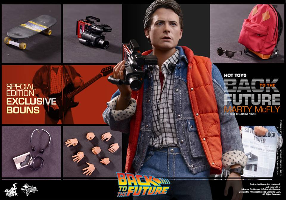 Hot Toys Finally Reveals Back to the Future Marty McFly